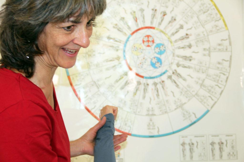 Barbara Schoenenberger bietet Kinesiologie und Massagen